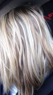 light blond light brown with light highlights and