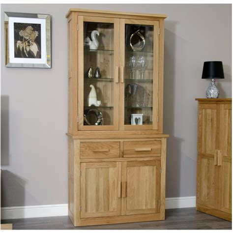 dining room display cabinet arden solid oak dining room furniture small dresser glazed