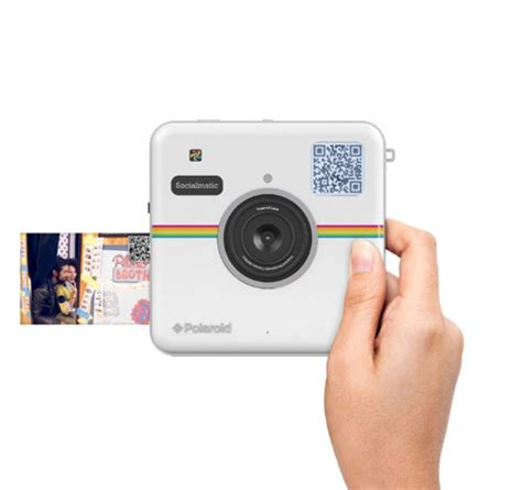 polaroid's new camera prints + uploads pics instantly