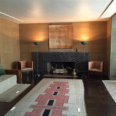 The Fireplace Cranbrook by Eliel And Loja Saarinen House Cranbrook Living Room