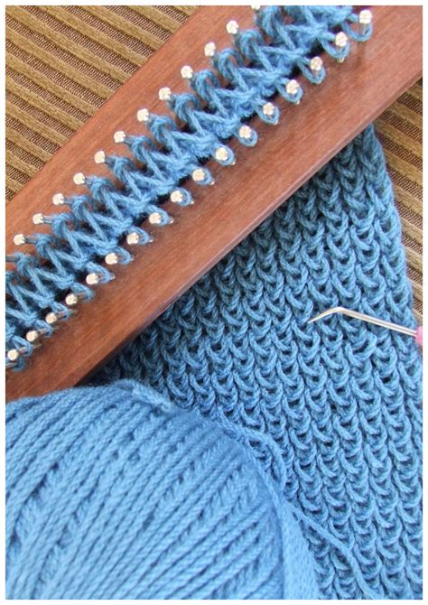 knitting projects fitzbirch crafts loom knitting