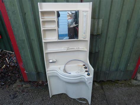 caravan motorhome conversion plastic bathroom unit ref