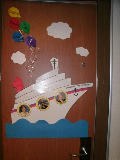 carnival cruise themes 17 best cruise door decorations images on pinterest
