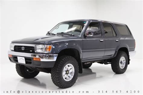 how petrol cars work 1993 toyota 4runner interior lighting 1993 toyota 4runner sr5 v6 4x4 3 0l v6 5 speed manual 12k original miles for sale photos