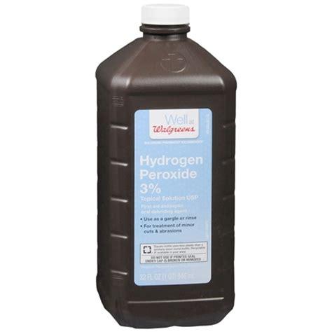 Hidrogen Peroksid walgreens hydrogen peroxide 3 topical solution usp