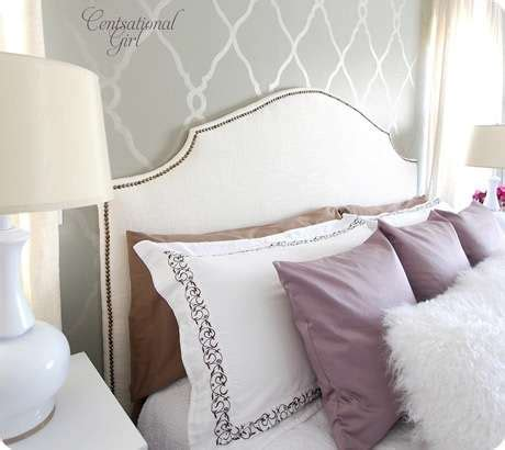 Nail Trim Headboard Diy by Living Beautifully One Diy Step At A Time The Headboard Ordeal