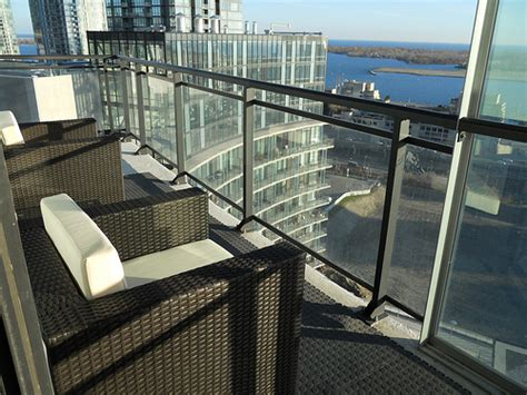 Condo Patio Furniture Condo Balcony With Patio Furniture Flickr Photo Sharing