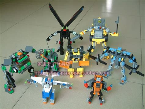 Qlt Lego Transform Warrior 2 In 1 kazi brick ko lego transformers