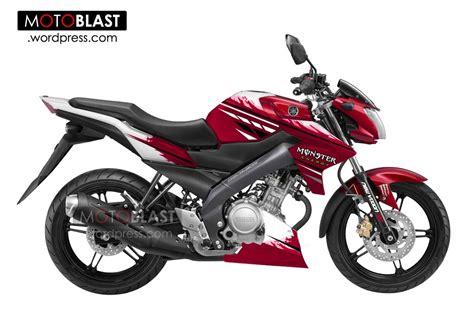 Fairing Custom R25 For Vixion Black White Energy yamaha new vixion white 2013 energy motoblast