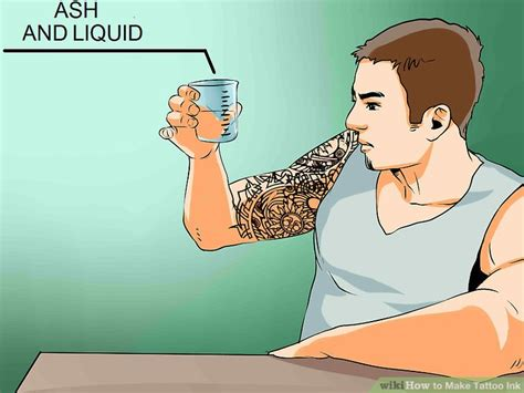 how to make tattoo ink 3 ways to make ink wikihow