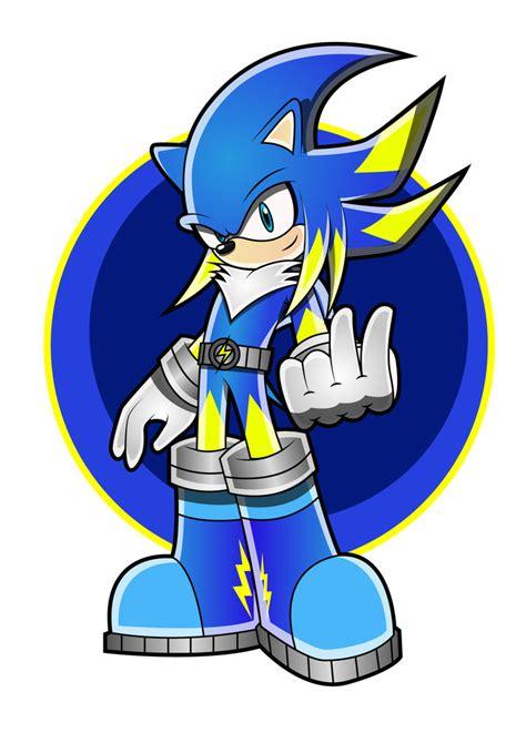 As Shock Sonic Blue jolt the hedgehog update by arung98 on deviantart