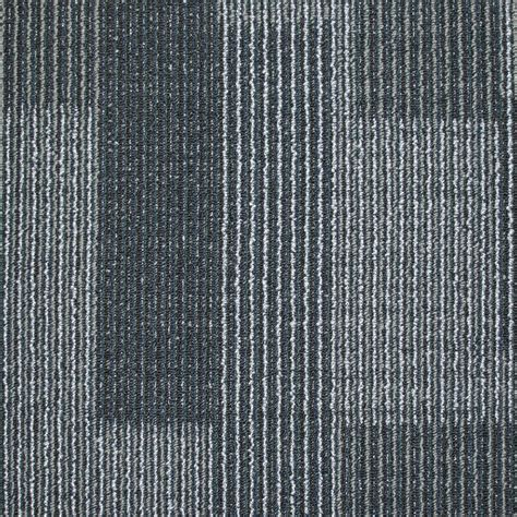 carpet tiles shop kraus 20 pack 19 7 in x 19 7 in deep ocean textured