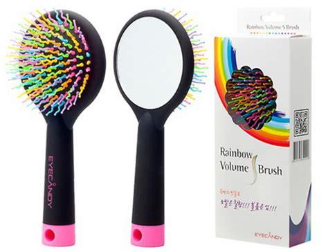 Sisir Rambut Bercermin Sikat Volume Eyecandy Rainbow Brush Comb Korean 1 eyecandy rainbow brush richelle shop