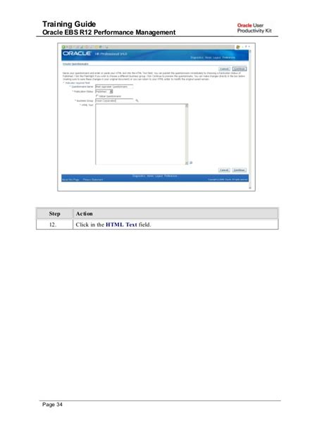 tutorial oracle class training guide oracle ebs r12 performance management