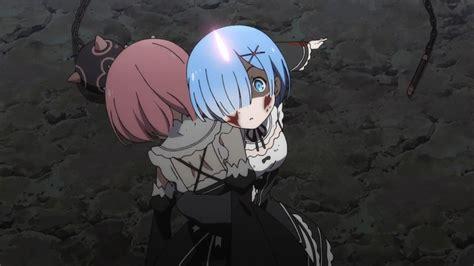 Kaos Rezero Ram Rem White re zero kara hajimeru isekai seikatsu 10 anime evo
