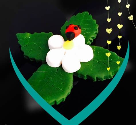fiore portafortuna portafortuna coccinella su fiore feste bomboniere di