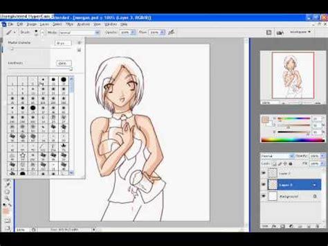 vector skin tone tutorial colouring skin in photoshop youtube