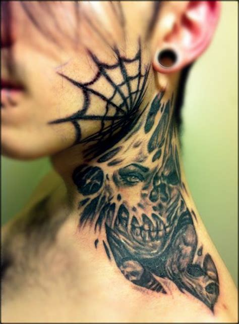 tattoo cover up on neck 130 best images about neck face tattoos on pinterest see