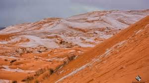 snow in sahara sahara gets snow for first time in 40 years the new daily