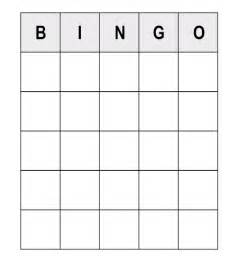 bingo sheet template read these numerous sle questions to play human bingo