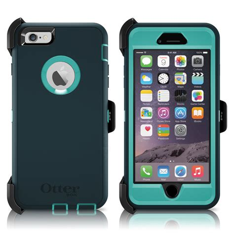 otterbox defender iphone 6 plus 5 5 quot holster oasis teal green oem new ebay