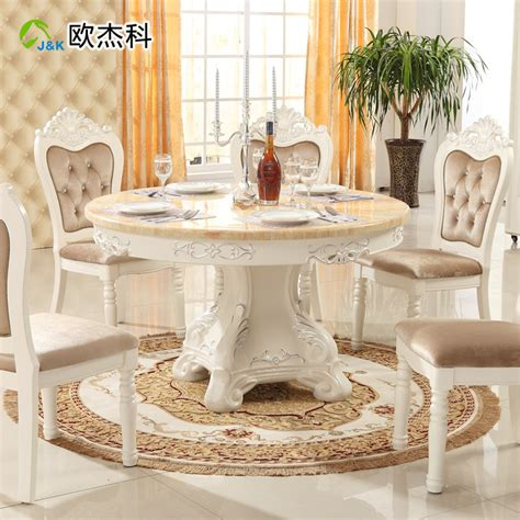 oujie ke continental combination of solid wood dining