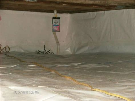 bq basement systems crawl spaces before and after photos