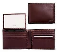 Ready Coach Embossed Wallet Darkbrown Mahogany bags bags coach s water buffalo leather passcase id