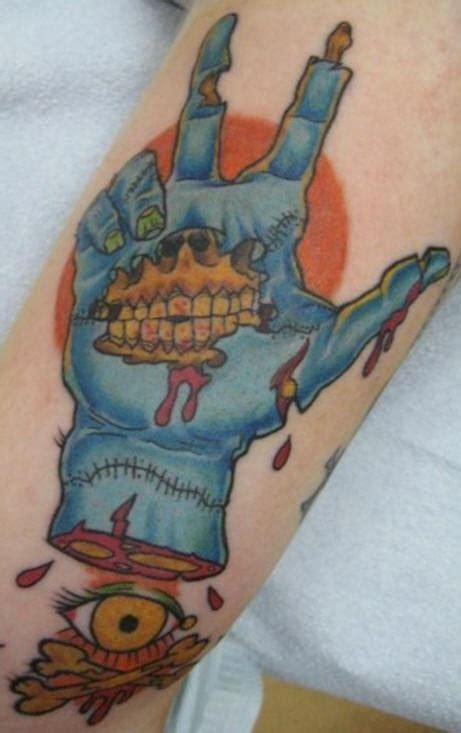 zombie tattoo on the hand tattooimages biz super zombie set part 11 tattooimages biz