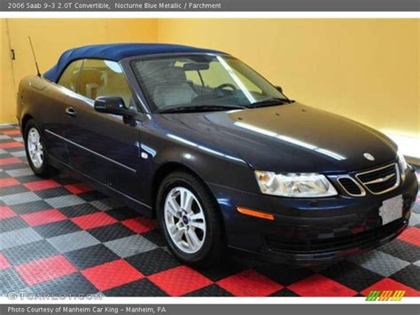 2006 saab 9 3 2 0t convertible in nocturne blue metallic