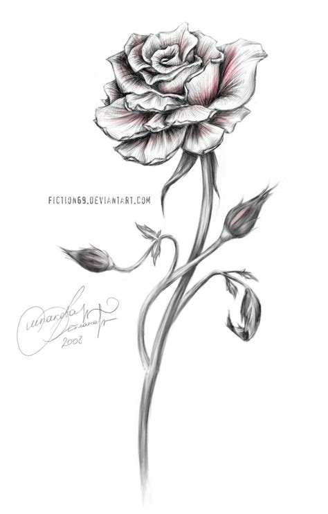 long stem rose tattoos absolutely in with this inspiration