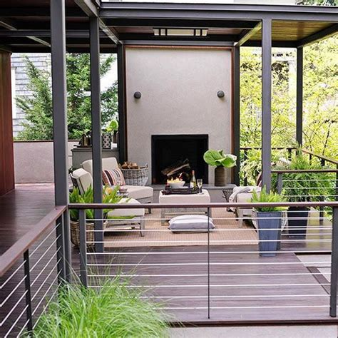 Glass Banister Cost 20 Creative Deck Railing Ideas For Inspiration Hative