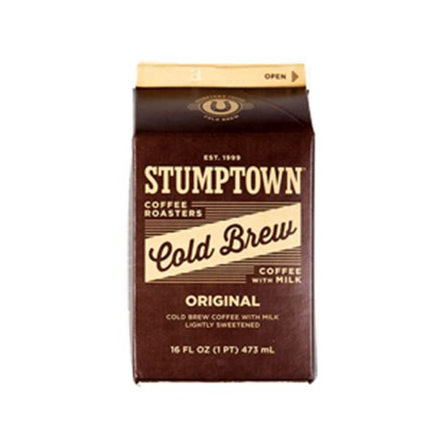 Cold Brew Coffee With Milk coffee review stumptown cold brew with milk