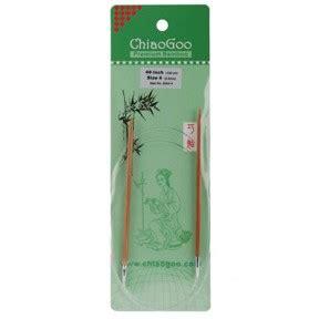 chiaogoo knitting needles reviews chiaogoo premium bamboo 40 circular knitting needles size 4