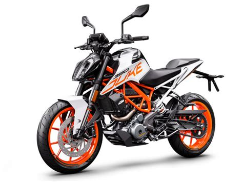 ktm duke 390 price 2018 ktm duke 390 launched in india gets white colour