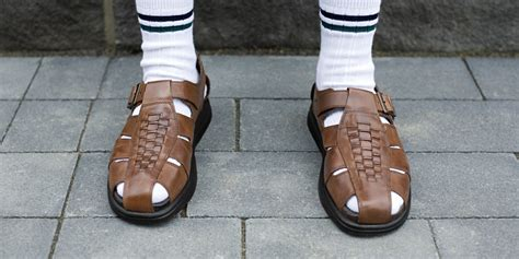 wearing sandals wearing socks with sandals the dabbler