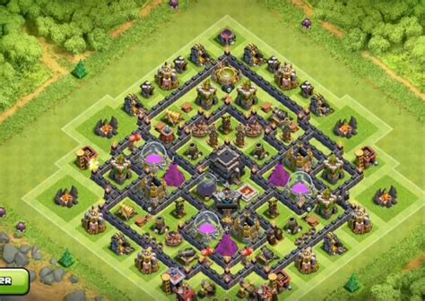 th8 base layout th 11 update th8 farming base january 2016