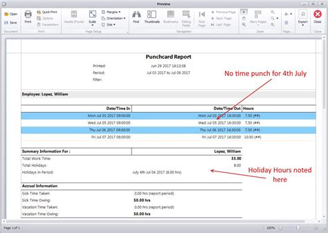 Payroll Section by Why Are Holidays Not Working Time Clock Mts