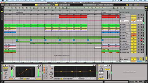 Ableton Live Deep House Template Youtube Ableton House Template