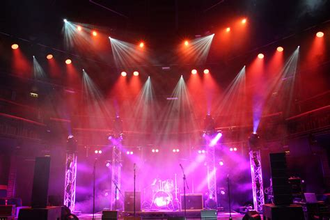 robe lighting robe supports bruford concert lighting project robe