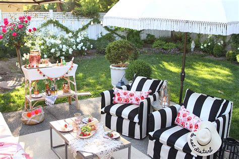Decoration Patio by Patio Decorating Ideas 7 Simple Summer Updates Modern Glam
