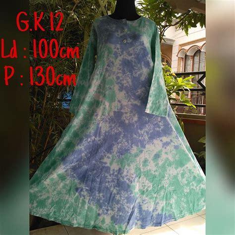 Gamis Batik Pelangi new motif gamis batik bahan kaos combet halus motif