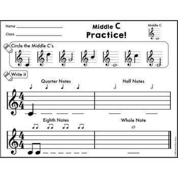treble staff notes practice  piano  xylophone