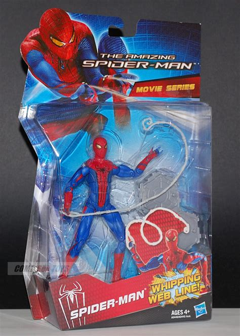 The Amazing Whipping Web Line Hasbro come see toys the amazing spider 6 quot spider