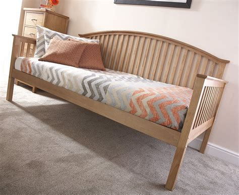 wooden trundle bed gfw furniture madrid wooden day bed and trundle option in
