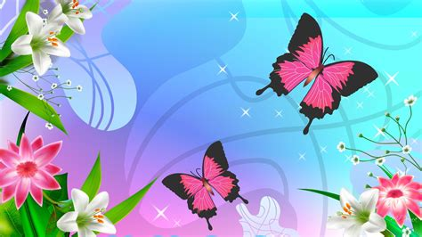 wallpaper flower and butterfly butterflies and flowers cute wallpapers