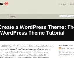tutorial wordpress theme from scratch wp theme of the day 285 newsmaker responsive