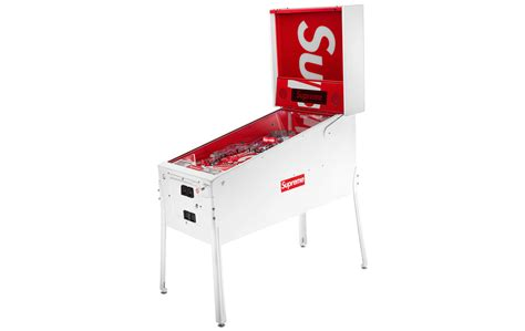 supreme brand supreme brand pinball machine is newest in low effort