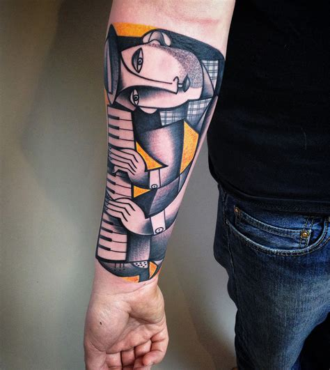 modern tattoos 40 astounding cubism tattoos