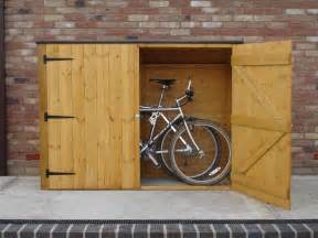 backyard bike shed on bicycle storage bike